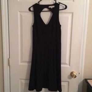 Gorgeous LOFT black dress, size 2, with pockets